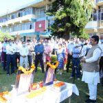 Imbibe virtues of Mahatma Gandhi and Shri Lal Bahadur Shastri: Prof H.K.Chaudhary, VC