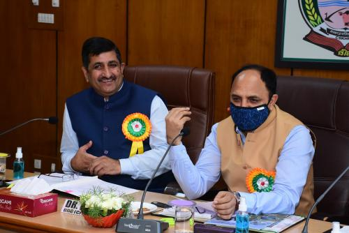 Visit of Dr. T.R. Sharma, DDG Crop Science, ICAR , GoI and other dignitaries