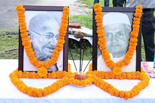 Celebrations of Gandhi Jayanti & birth anniversary of Lal Bahadur Shastri
